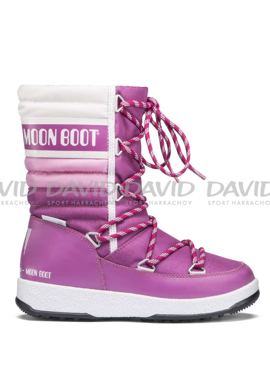 TECNICA MOON BOOT W.E.QUILTED JR PINK