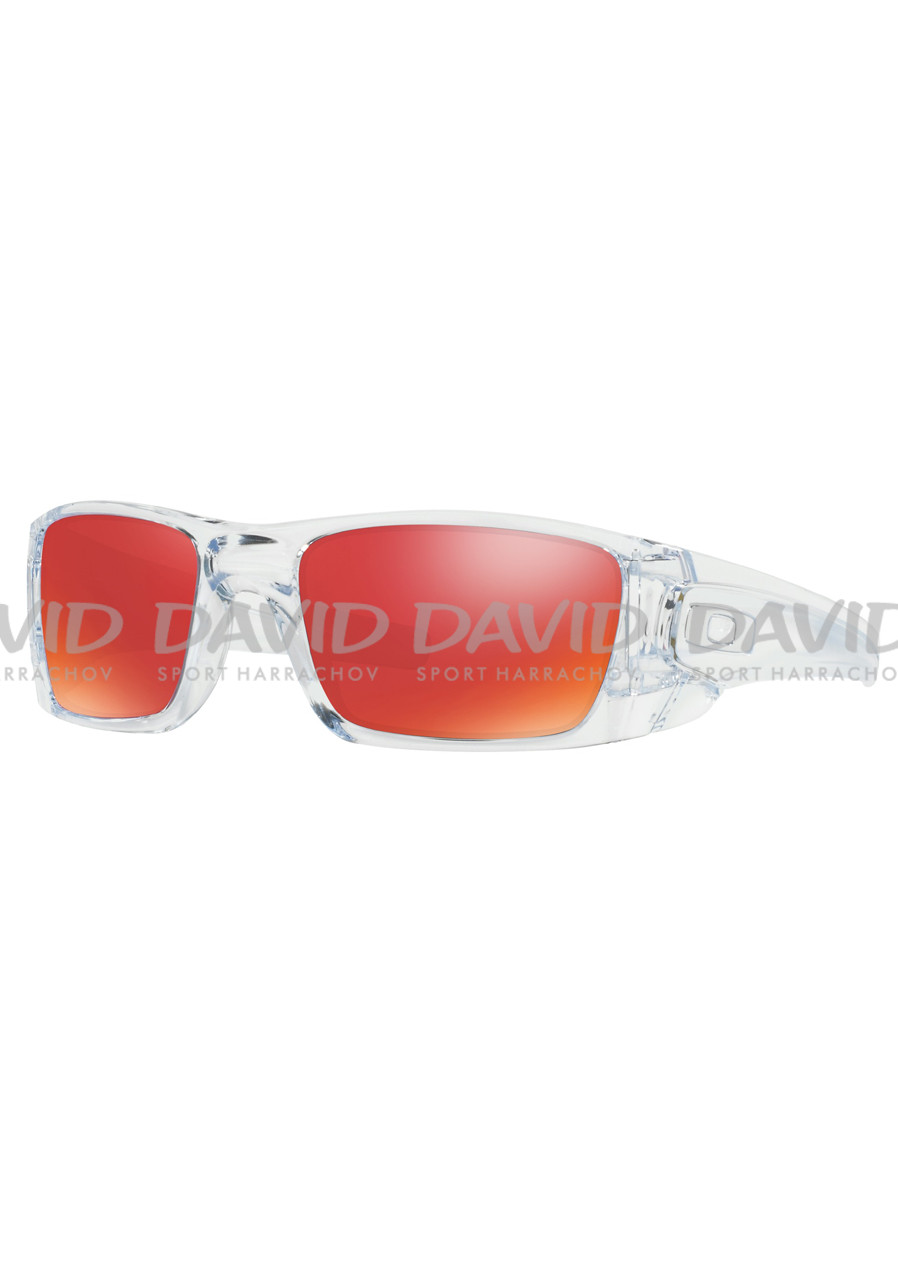 OAKLEY 9096-H660 Fuel Cell Pol Clear w/ Torch Iridium