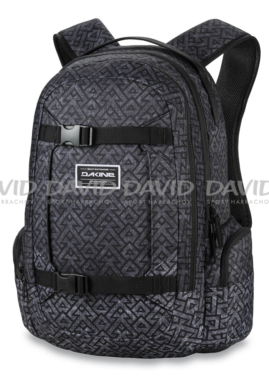 detail Batoh DAKINE MISSION 25 L STACKED