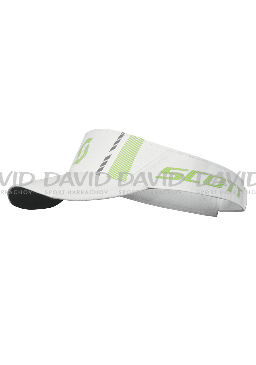 Kšilt SCOTT VISOR RUN RACE WHT/LIME