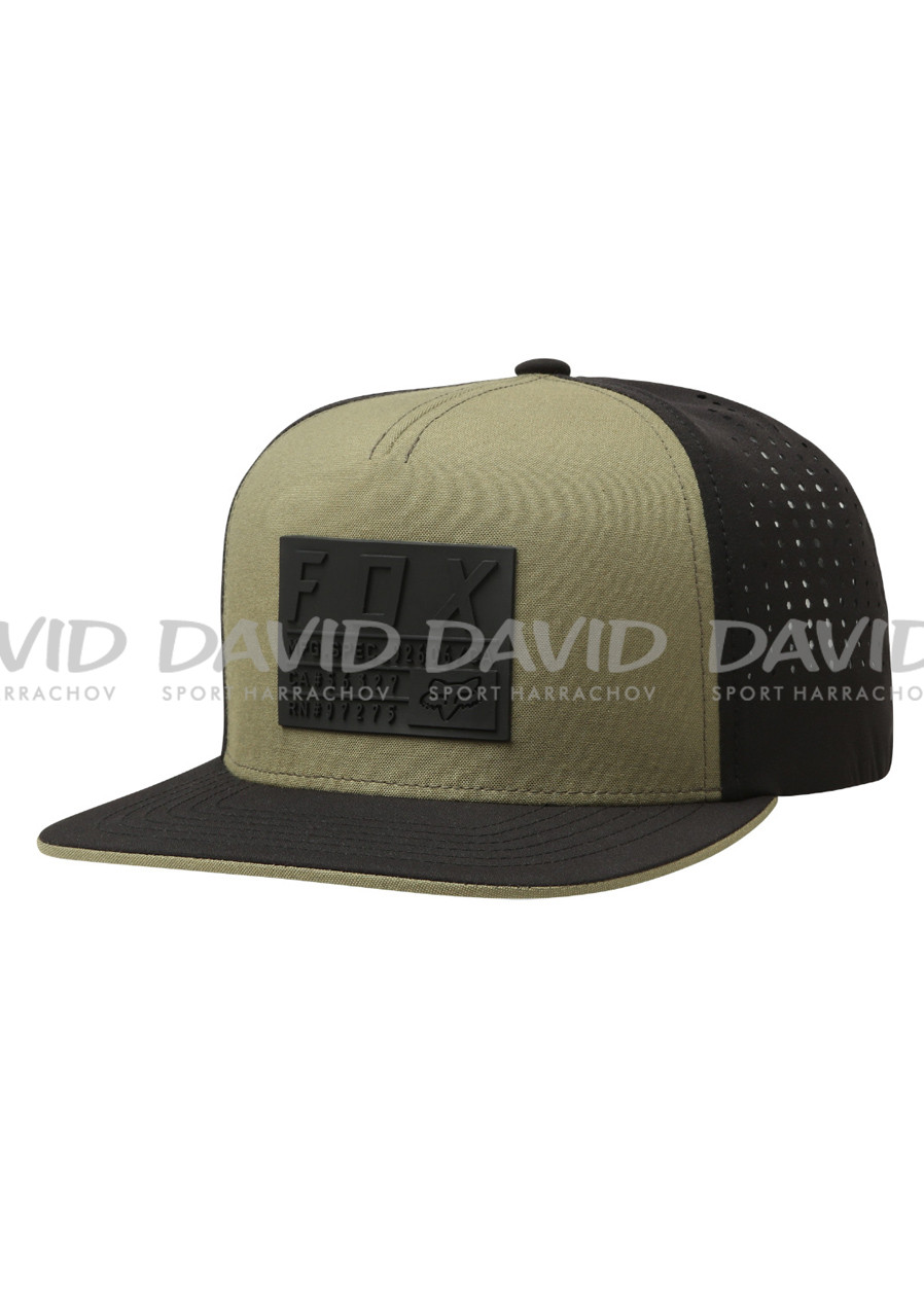 Fox Redplate Tech Snapback Hat Fatigue Green