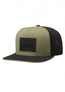 024a54816b4 detail Pánská kšiltovka Fox Redplate Tech Snapback Hat Fatigue Green