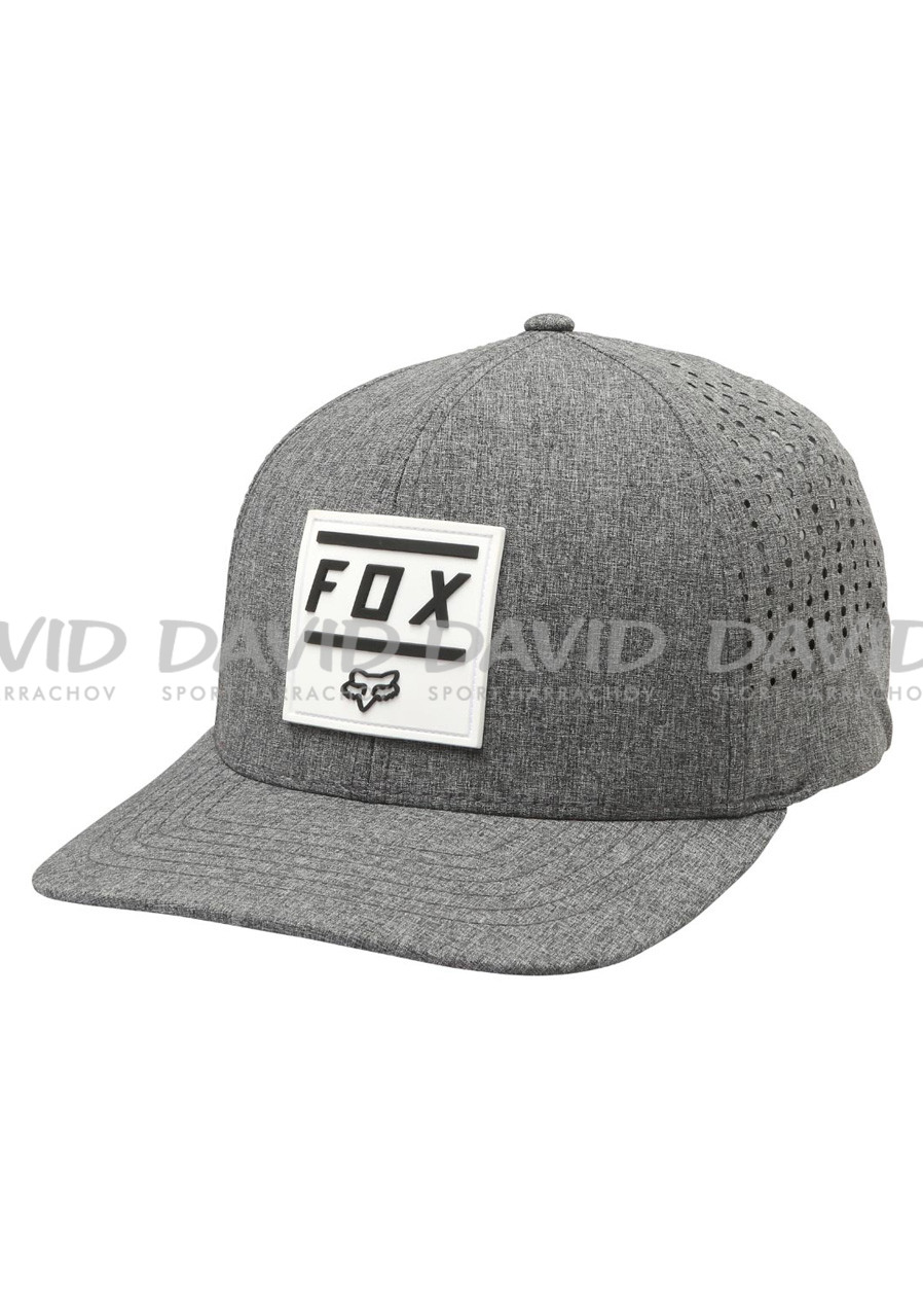 detail Fox Listless Flexfit Hat Heather Graphic