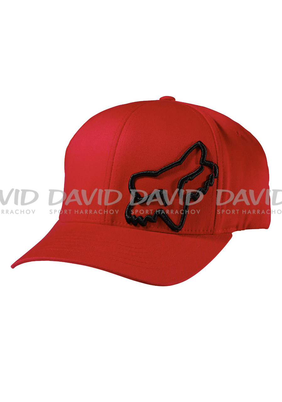 Kšiltovka Fox Flex 45 Flexfit Hat Red