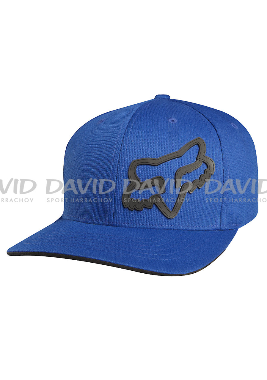 Kšiltovka Fox Signature Flexfit Hat Blue