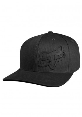 Fox Signature Flexfit Hat Black
