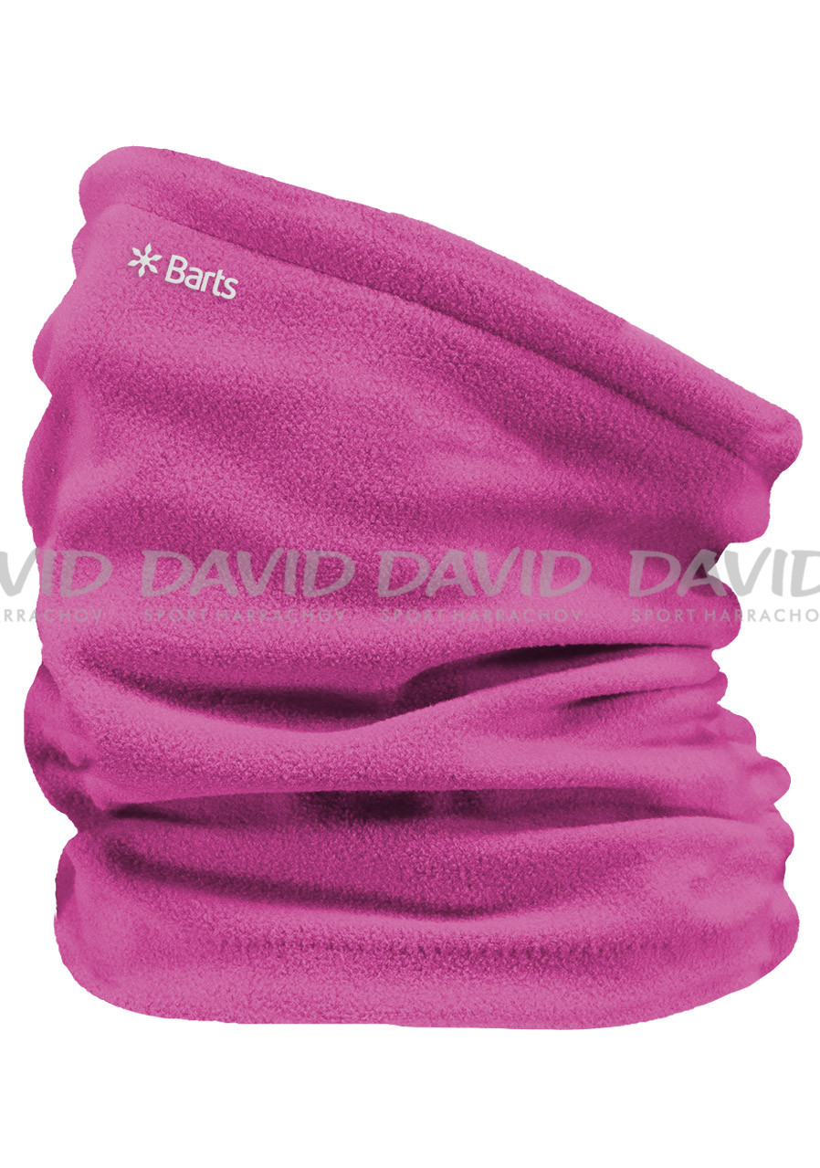 detail BARTS FLEECE COL FUCHSIA