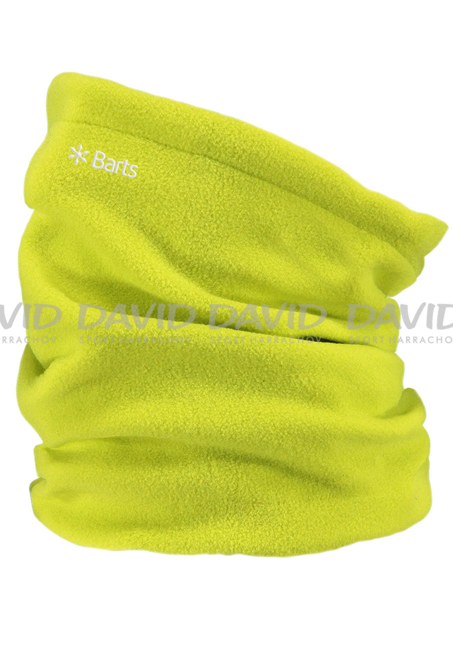 BARTS FLEECE COL LIME
