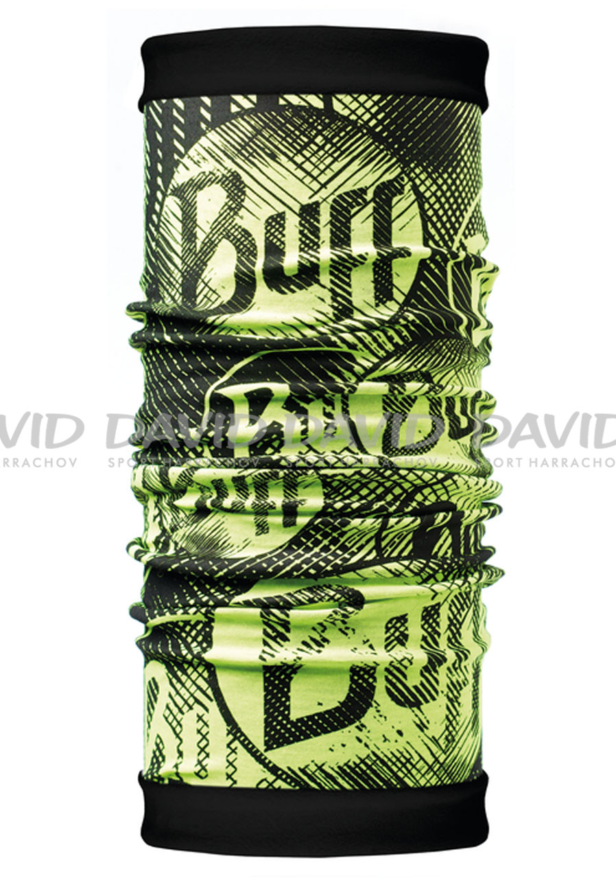 Buff 118045 REVERSIBLE POLAR LOG US YELLOW FLUOR