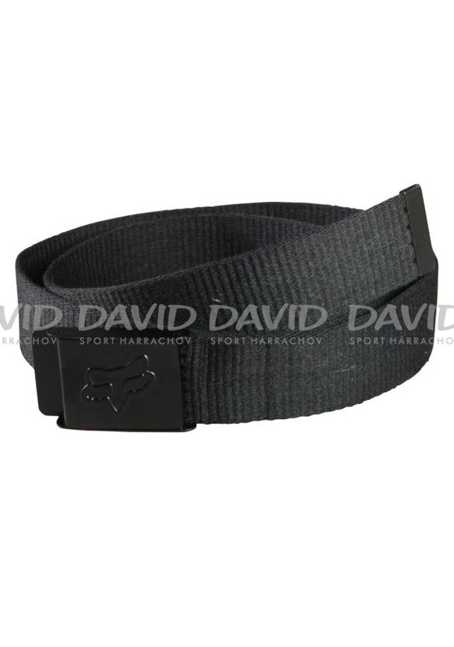 Pásek FOX 17 59697 CLEAN WEB BELT BLACK