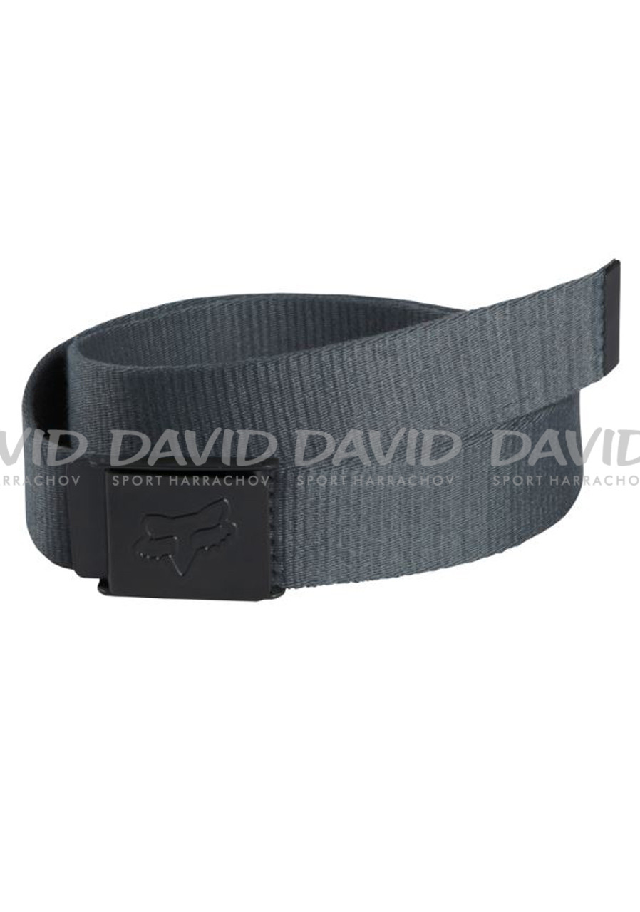 Pásek FOX 17 59697 CLEAN WEB BELT CHARCOAL