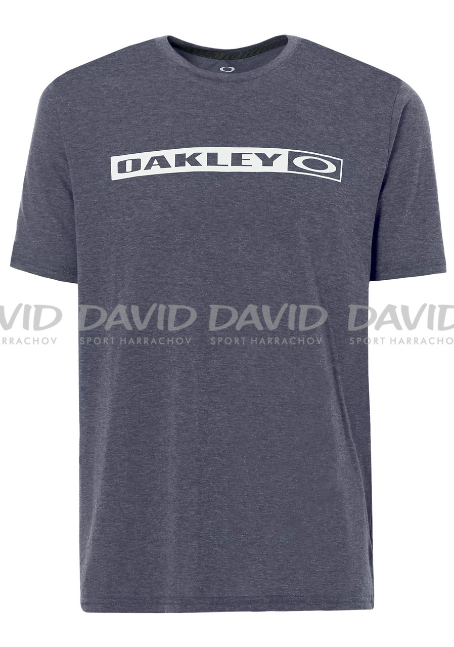 Pánské triko Oakley So- New Original Tee Fathom Light Heather