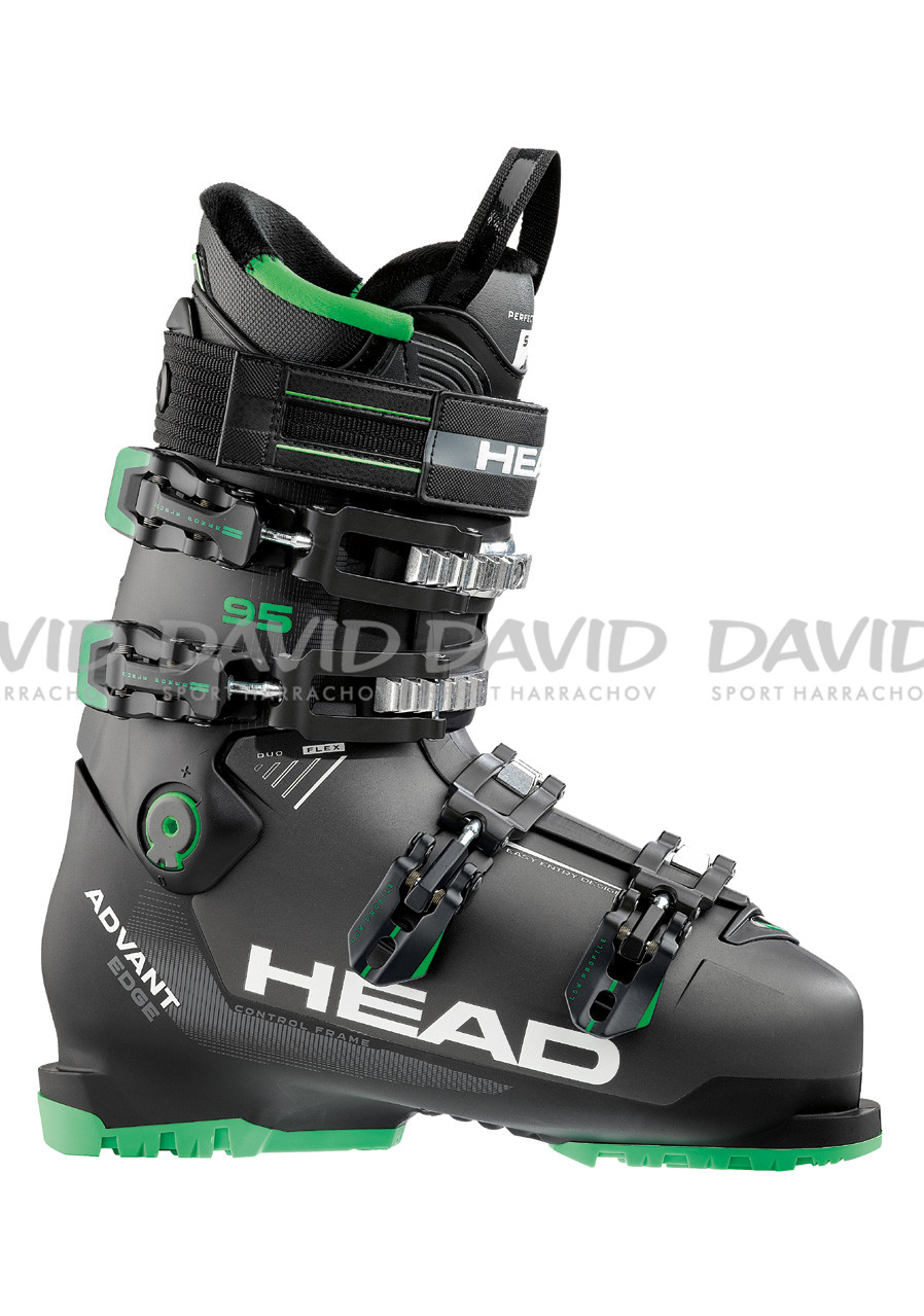 HEAD ADVANT EDGE 95 ANTH/BLACK-GREEN