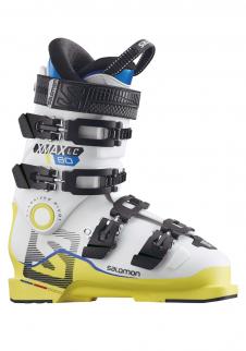 detail Dětské lyžařské boty Salomon X MAX LC 80 Whi Yel 2deedddd0a