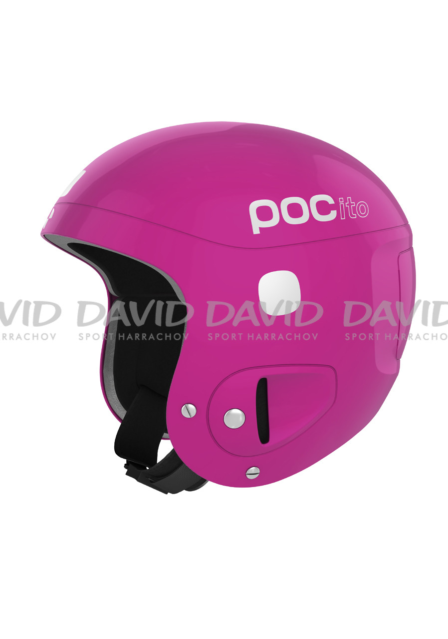 POCito Fluorescent Pink ADJUSTABLE HELMA