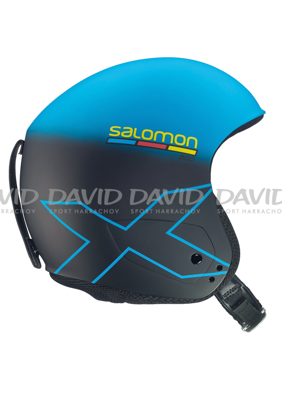 Lyžařská helma Salomon X RACE SLAB Blue/Black