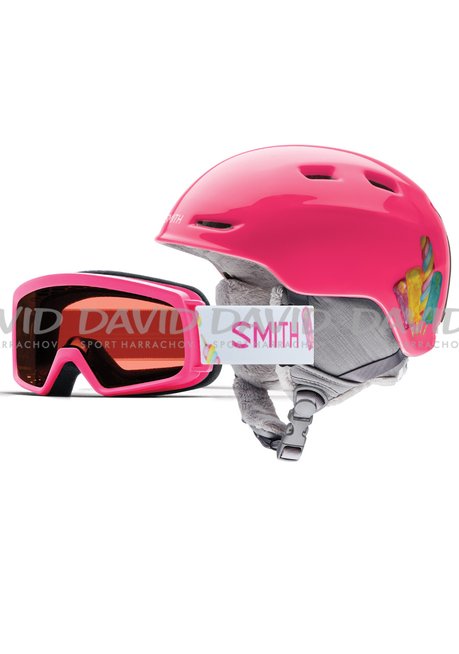 SMITH ZOOM JR/RASCAL PINK POPSINCLES