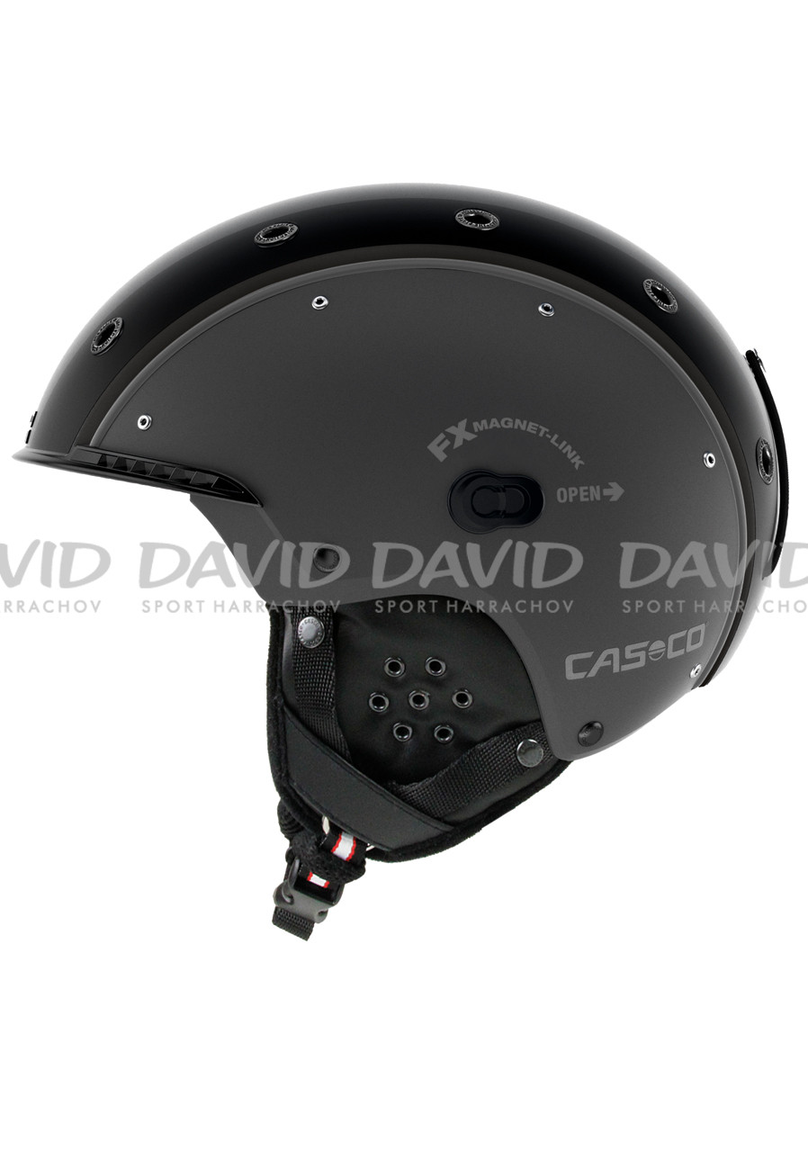 Lyžařská helma Casco SP-3 Airwolf Gun Metal
