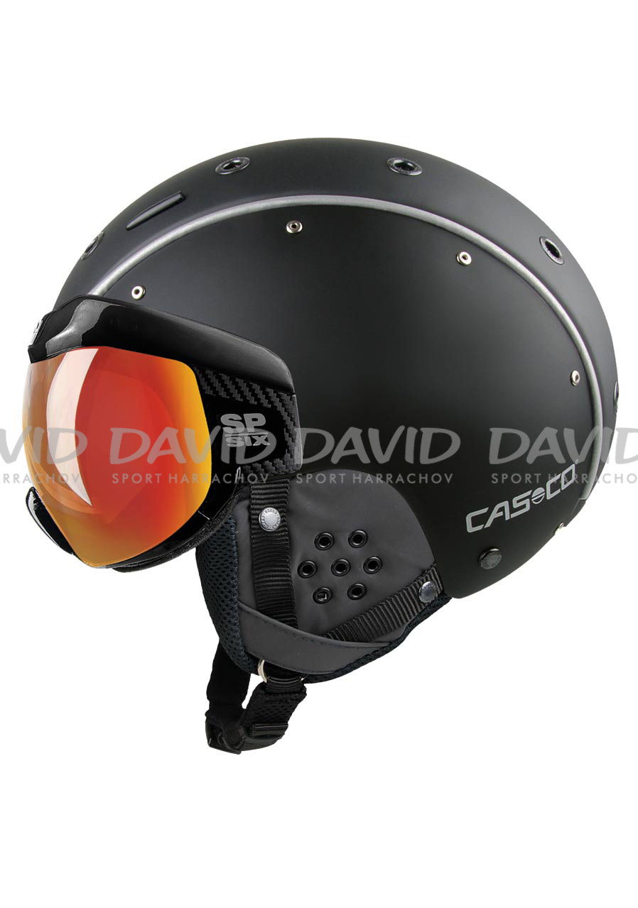 Lyžařská helma Casco SP-6 Visor Multilayer Black