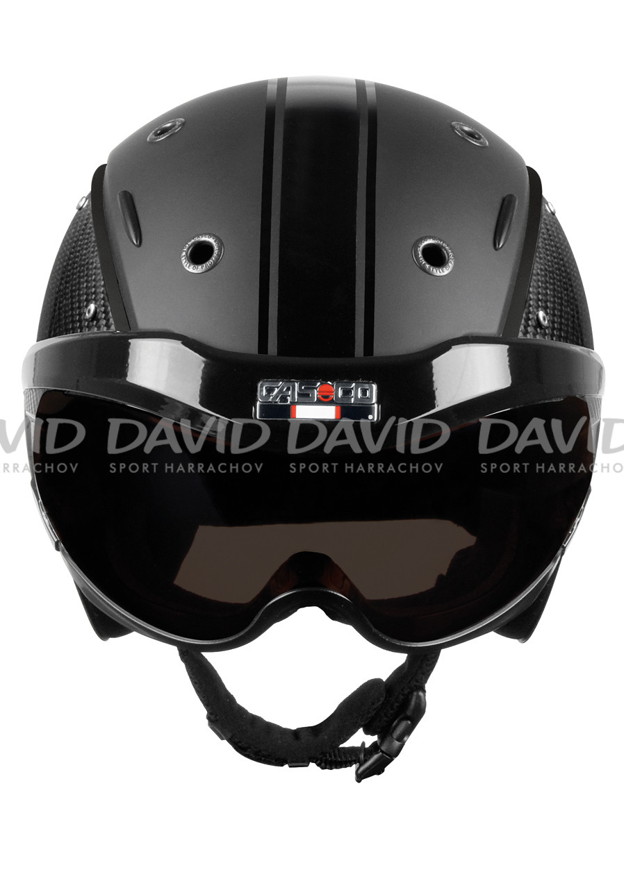 detail Casco SP-6 Visor Limited Carbon black