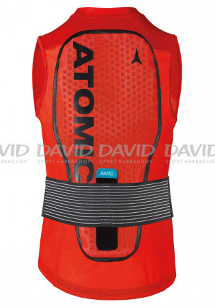detail Chránič páteře Atomic Live Shield Vest Amid Red