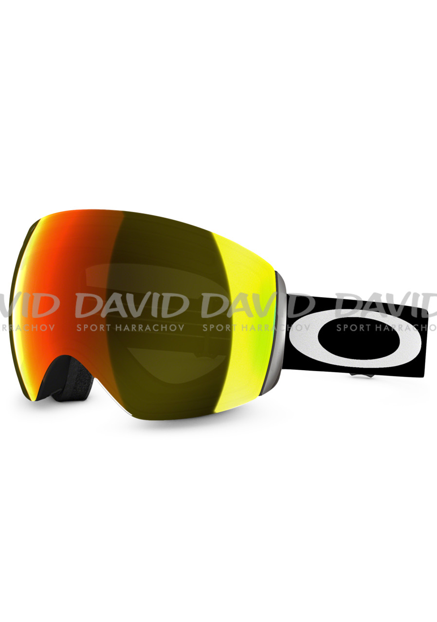 Oakley 59-709 Flight Deck Blk/Fire Irid Google