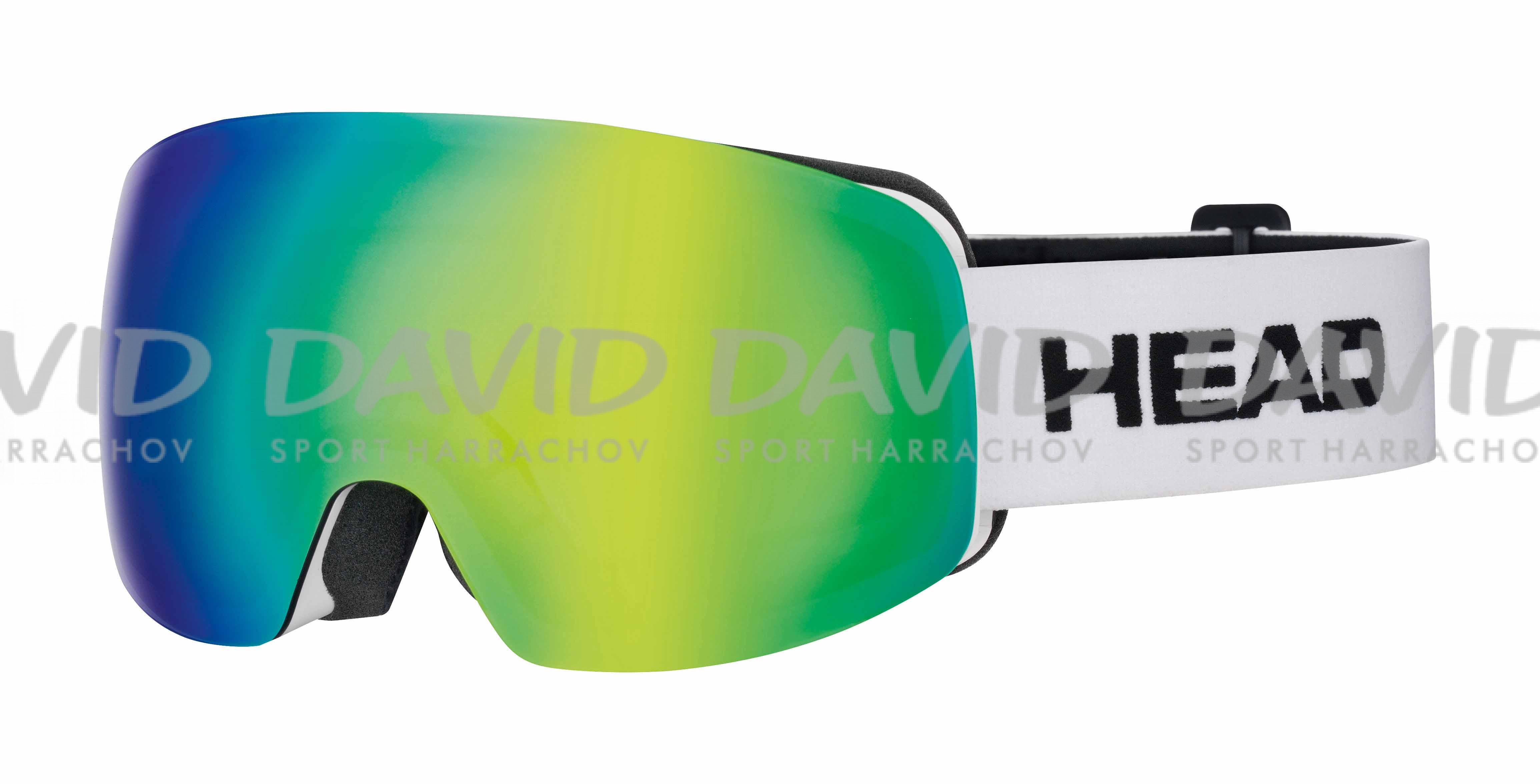 detail HEAD GALACTIC FMR blue/green