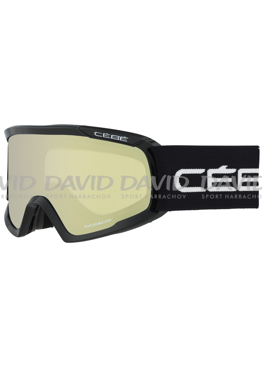 náhled CEBE FANATIC L BLACK Yellow Flash Mirror