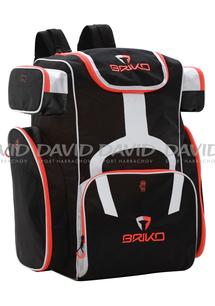 Batoh Briko BACK PACK GULLIVER Blk-Wht-Orange
