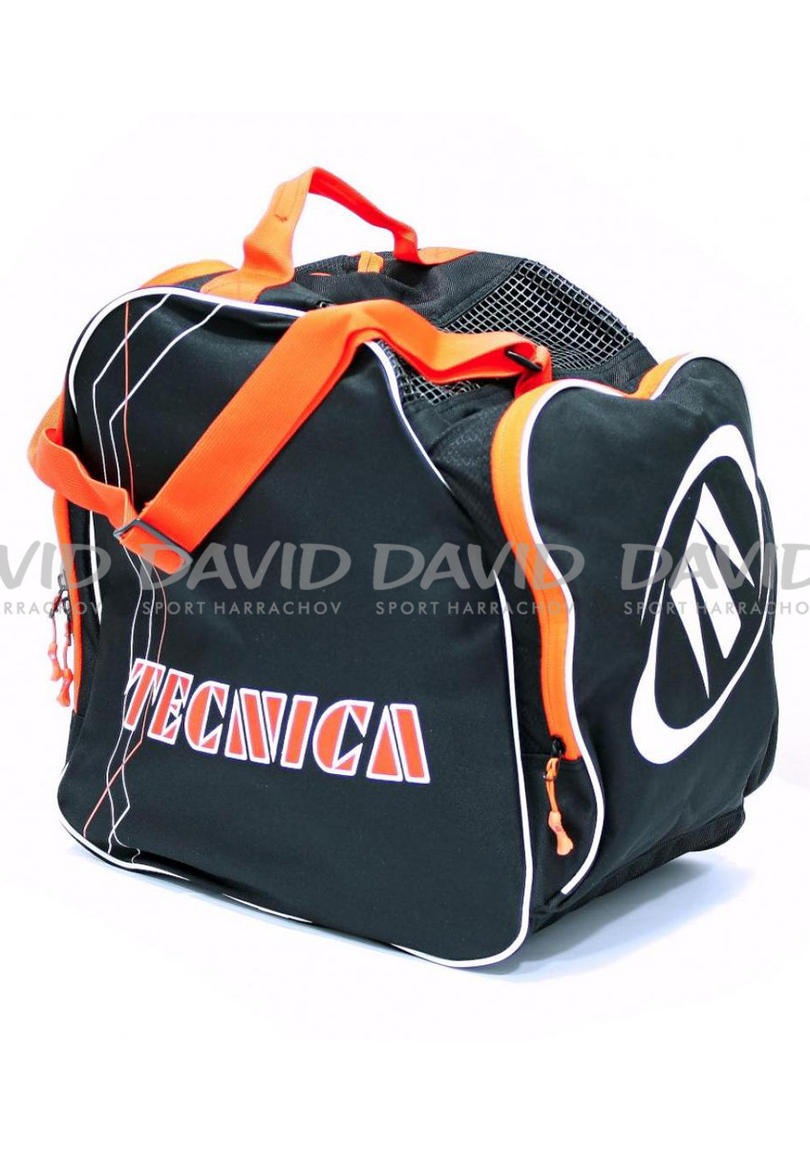 Taška na boty Tecnica Skiboot Bag Premium Black/orange