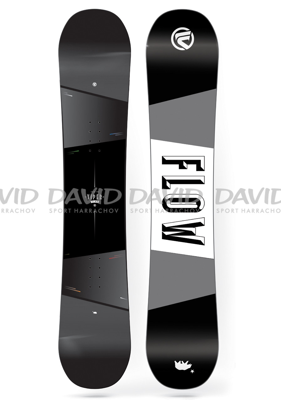 náhled Snowboard Flow Viper Bla/Gre