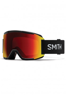 Lyžařské brýle Smith Squad Black/ Photochromic Red ChroPop