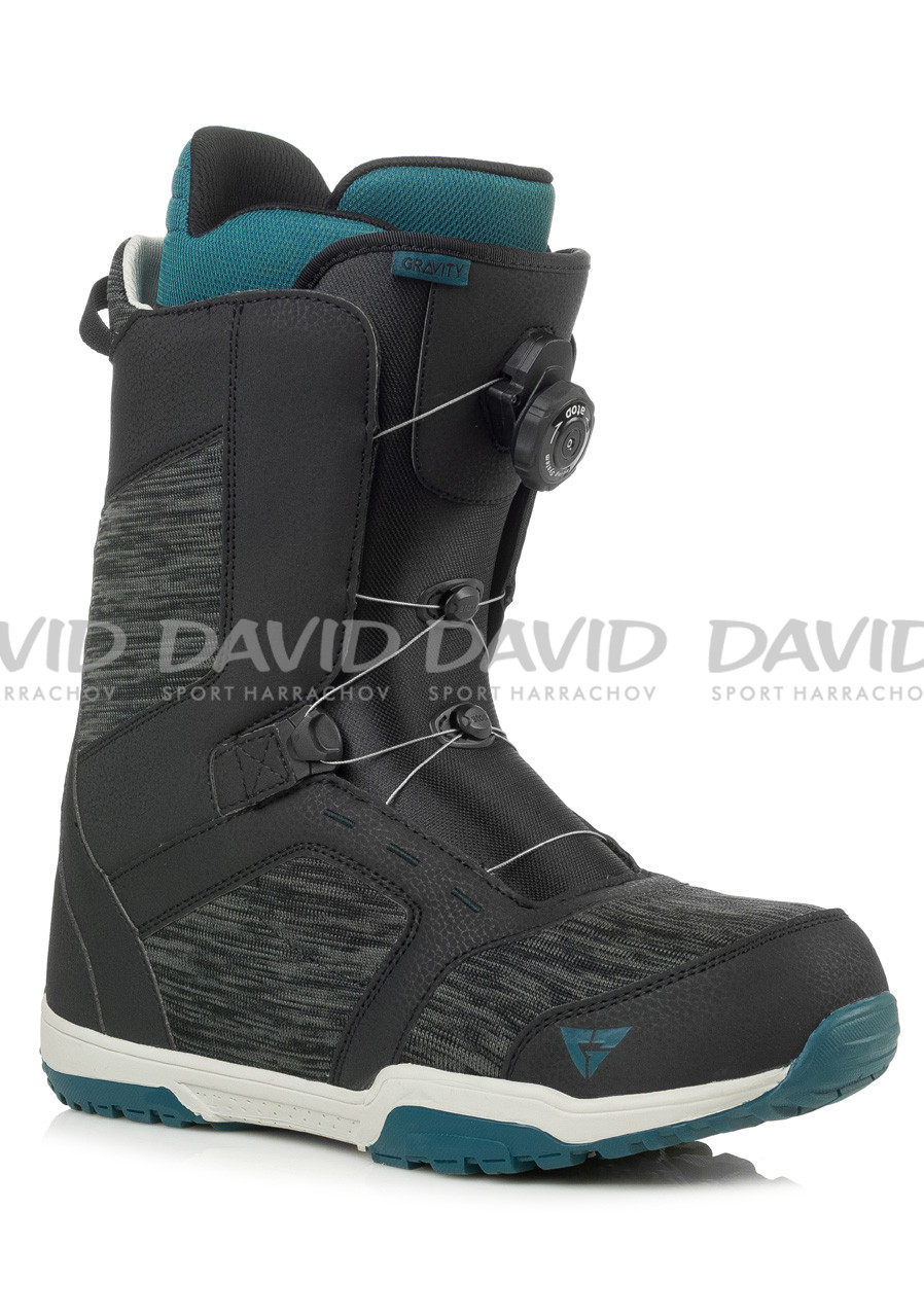 Boty na snowboard Gravity Recon Atop Black/Blue