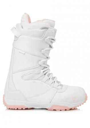 detail Dámské boty na snowboard Gravity Bliss White Pink 6d2bd4337a