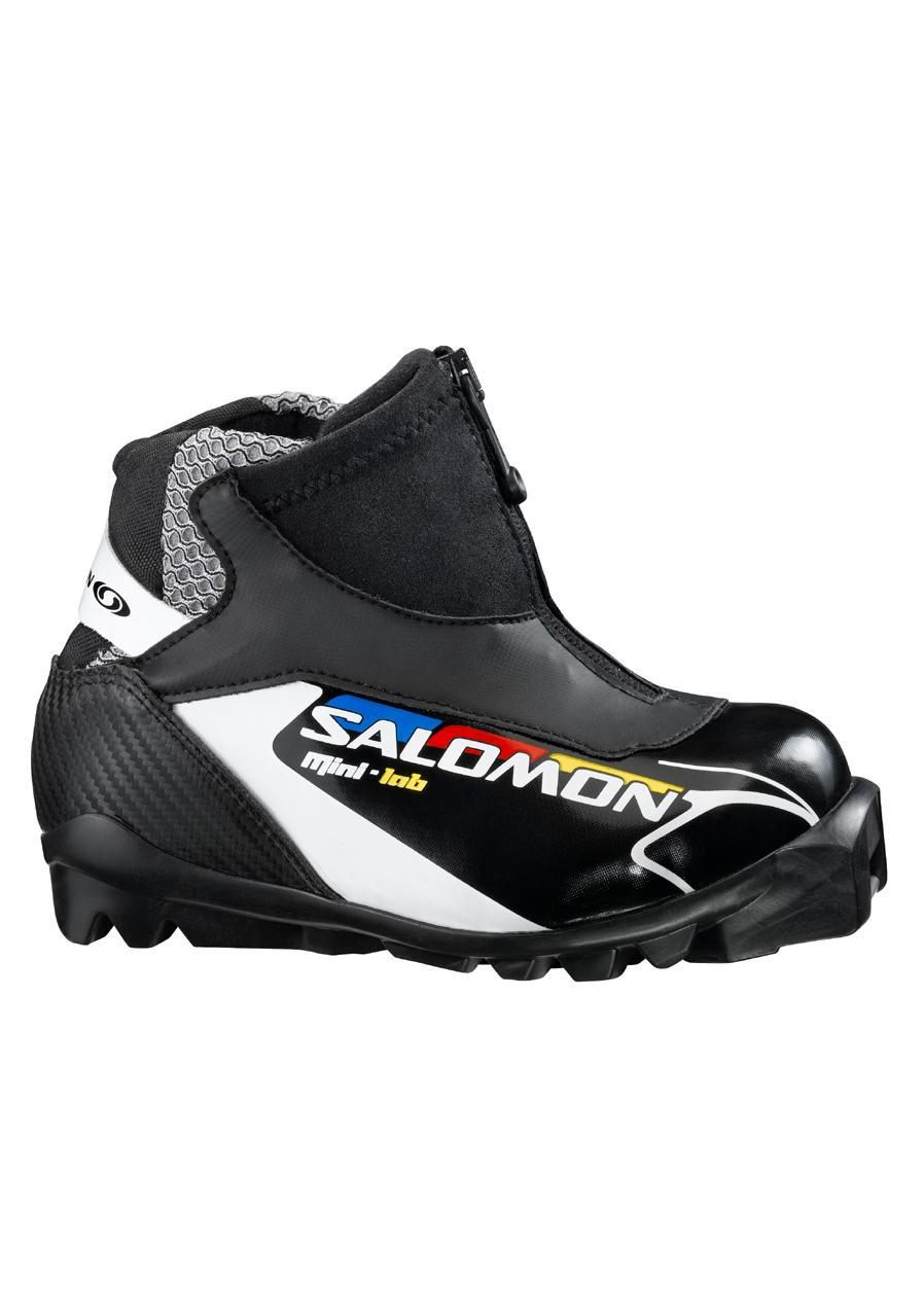 Dětské boty na běžky Salomon Mini LAB 11 12  03ae20172e