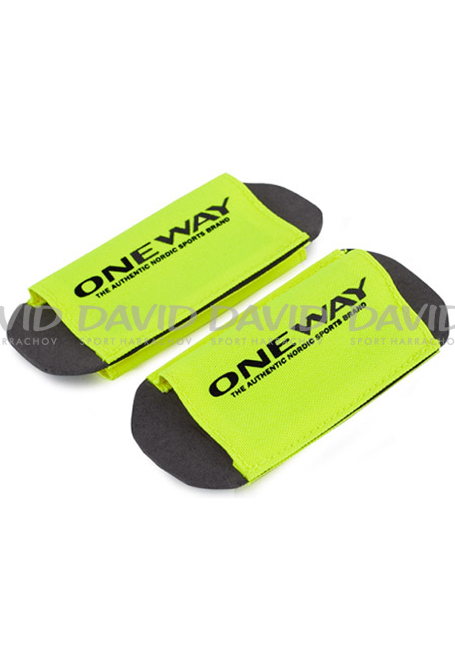 One Way Ski Clip Yellow