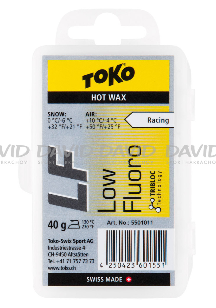 Toko LF Hot Wax Yellow 10/-4 st. 40g