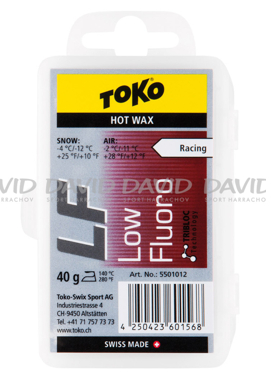 Toko LF Hot Wax Red -2/-11 st. 40g