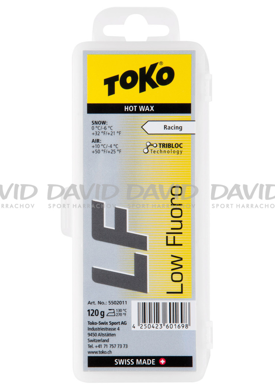 VOSK TOKO LF Hot Wax yellow