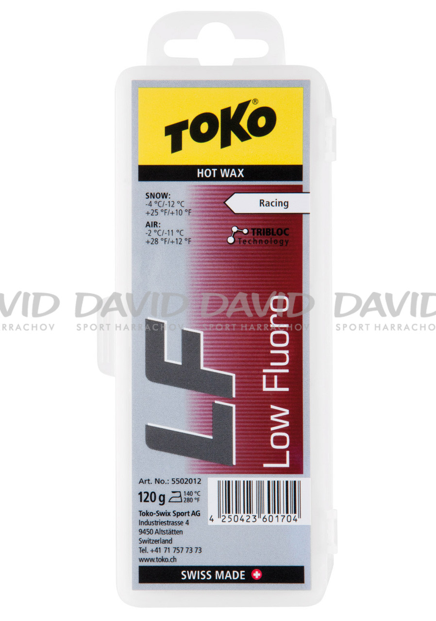 VOSK TOKO LF Hot Wax red