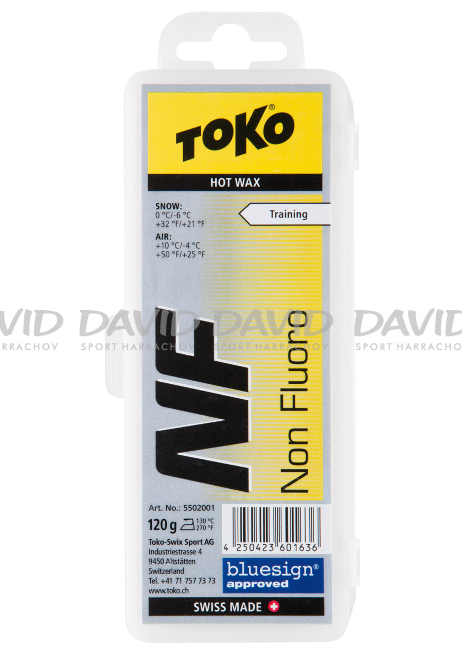 Vosk Toko NF Hot Wax 120 g Yellow 10/-4°C
