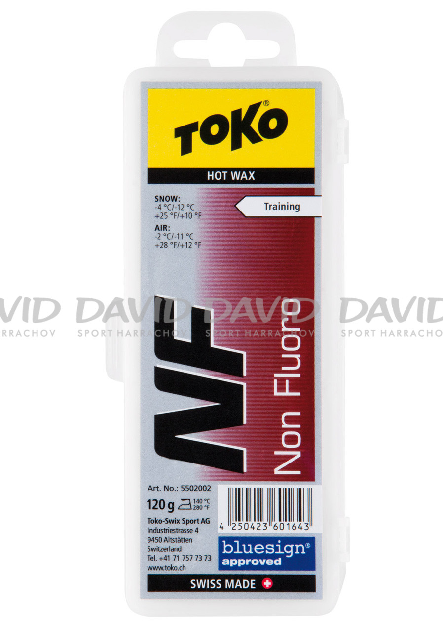 Vosk  Toko NF Hot Wax 120 g Red -2/-11°C