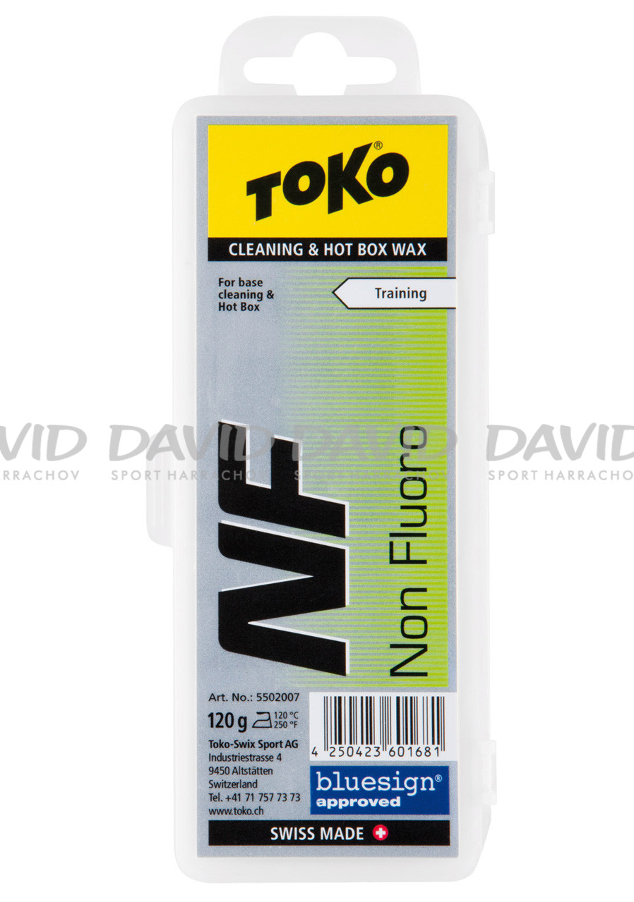 Toko NF Cleaning & Hot Box Wax 120g