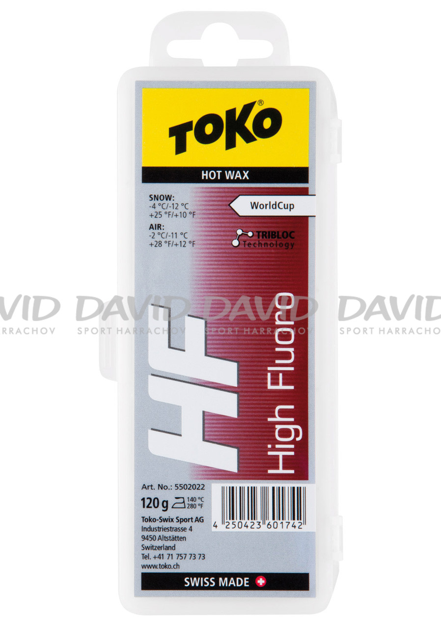 náhled Vosk  Toko HF Hot Wax Red 120g