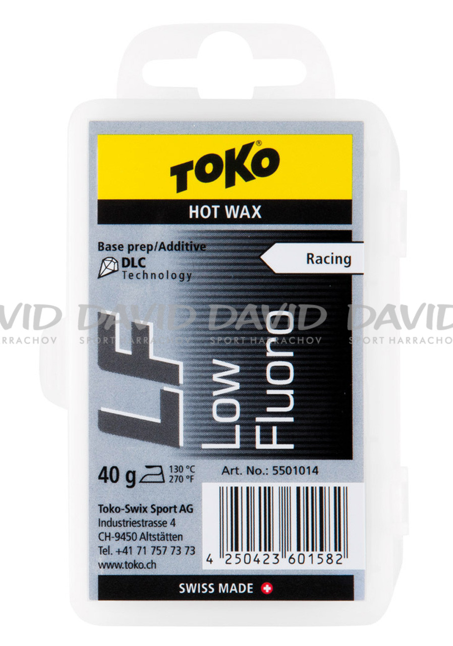 detail VOSK TOKO LF Hot Wax black