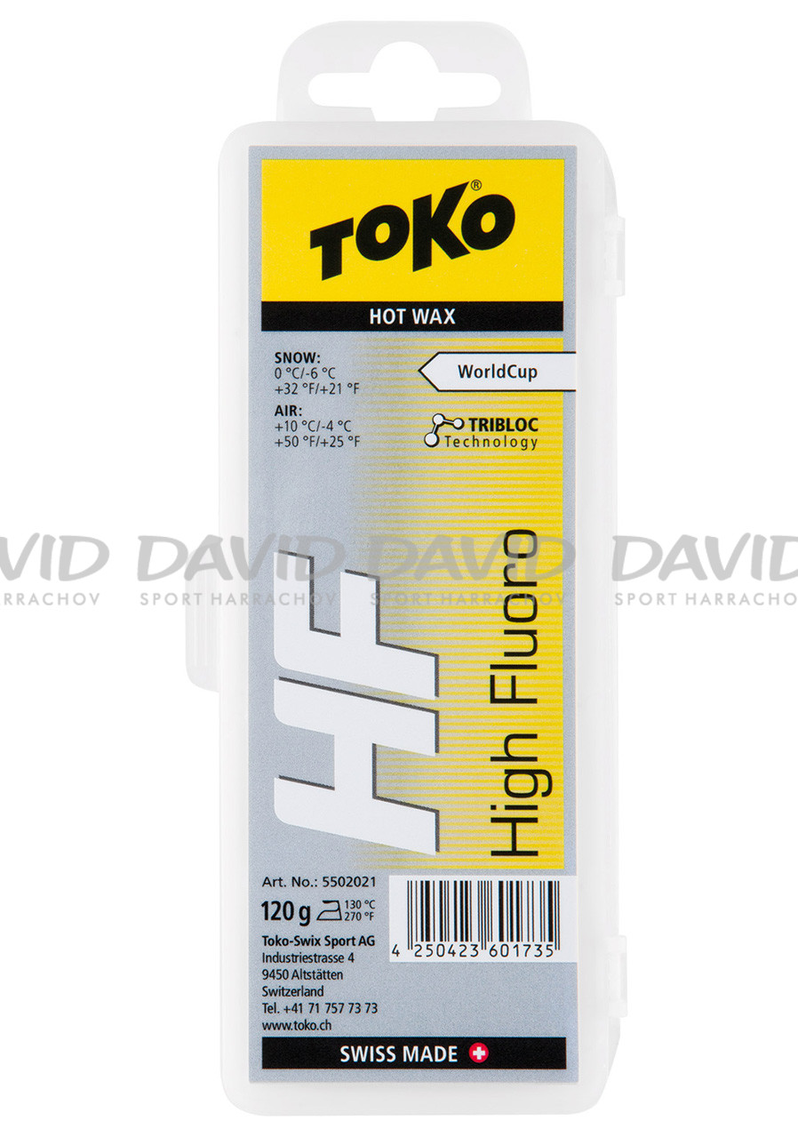 VOSK TOKO HF Hot Wax yellow