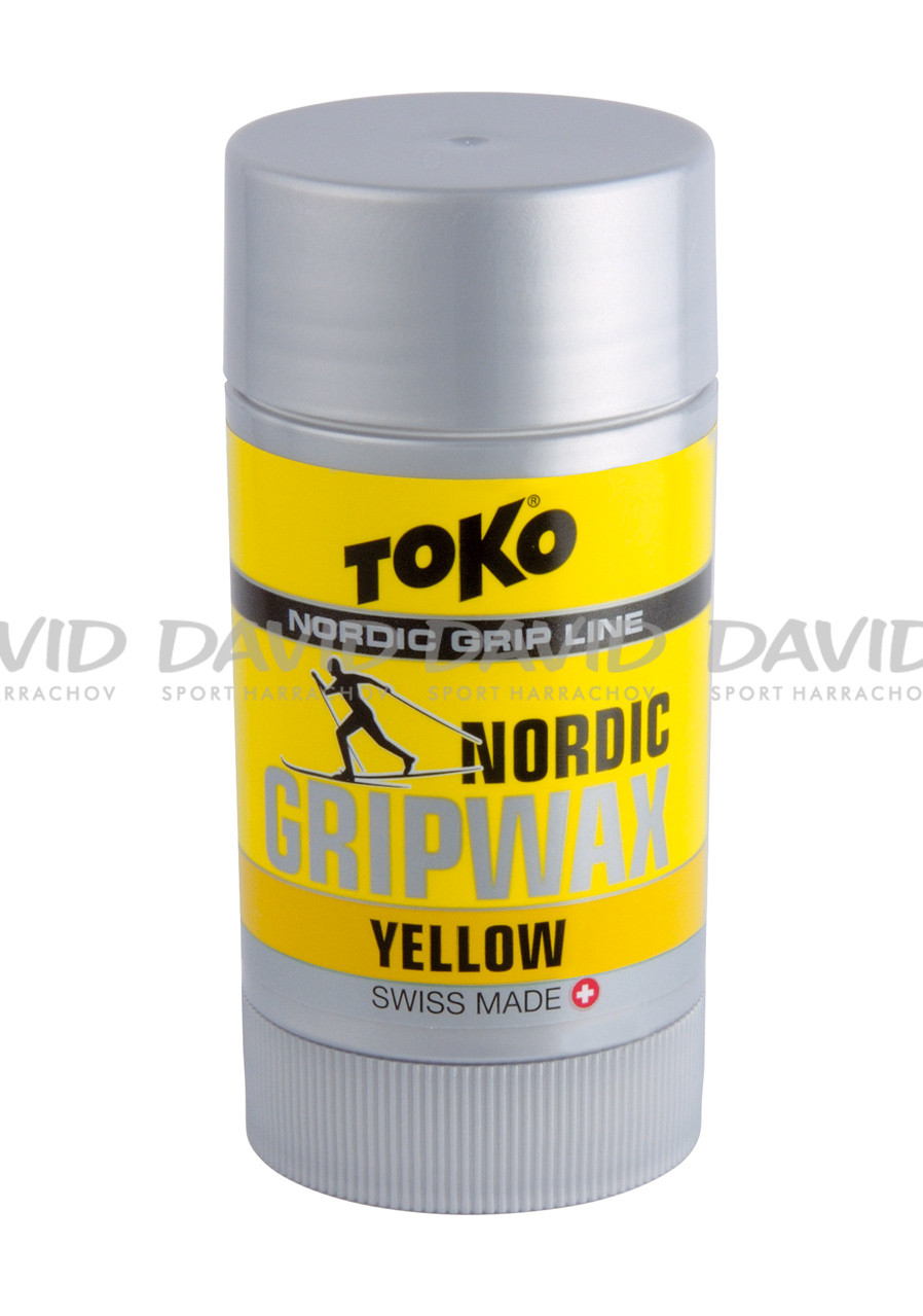 Toko Nordic Grip Wax Yellow 3/-3 st.