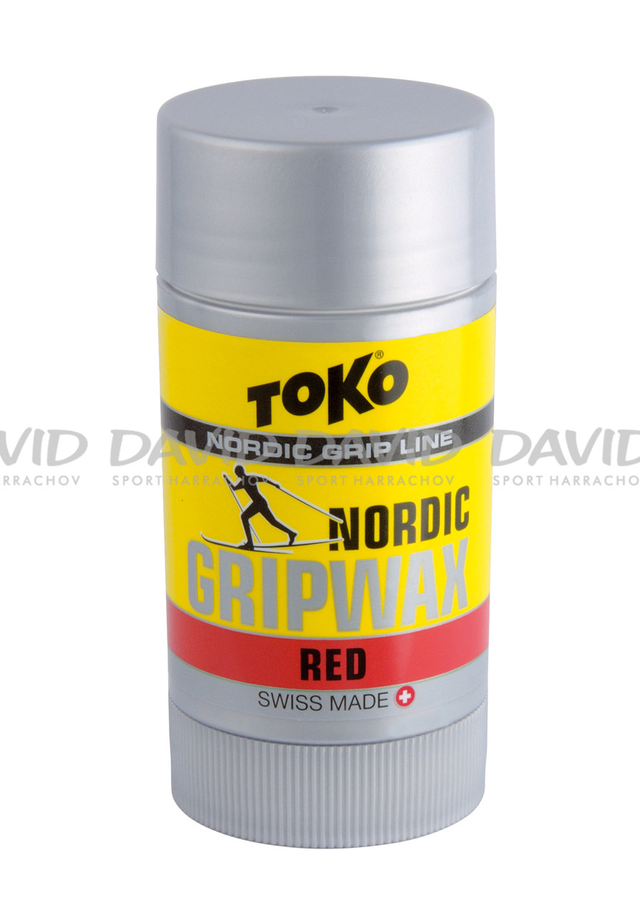 detail Toko Nordic Grip Wax Red 0/-10 st.