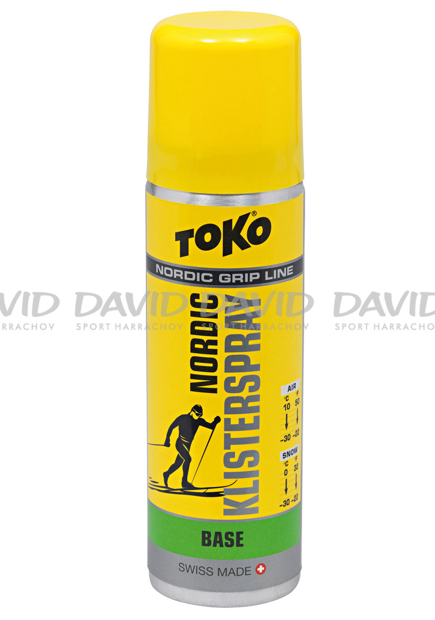 Klistr Toko Nordic GripSpray 70 ml Base Green