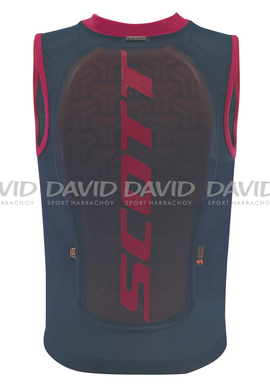 SCOTT VEST PROTECTOR JR ACTIFIT PLUS RED/BLUE